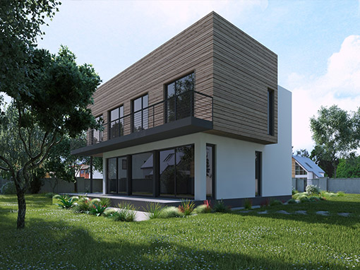 LOW-ENERGY FAMILY HOUSE IN ZELINA