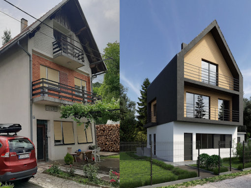 Makeover kuće u Ogulinu